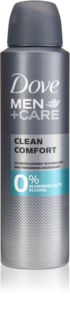 Dove Men+Care Clean Comfort Alkoholfri och aluminium-fri deodorant 24 tim