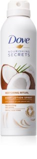 Dove Nourishing Secrets Restoring Ritual latte corpo in spray