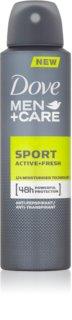 Dove Men+Care Sport Active+Fresh spray anti-transpirant pour homme