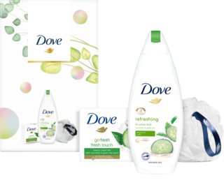 Dove Go Fresh Cucumber & Green Tea lote de regalo (de ducha )