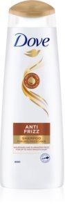 Dove Anti Frizz Nærende shampoo Til at behandle kruset hår