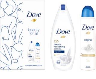 Dove Beauty for all σετ δώρου (για όλους τους τύπους δέρματος)