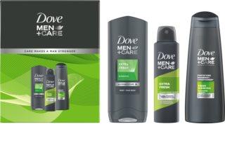 Dove Men+Care Extra Fresh σετ δώρου (για σώμα και μαλλιά) για άντρες