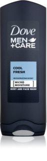 Dove Men+Care Cool Fresh gel douche rafraîchissant visage et corps