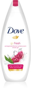 Dove Go Fresh Pomegranate & Lemon Verbena gel de banho nutritivo