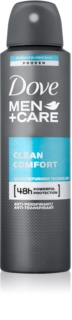 Dove Men+Care Clean Comfort dezodorant - antyperspirant w aerozolu 48 godz.
