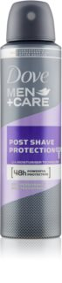 Dove Men+Care Post Shave Protection spray anti-transpirant 48h