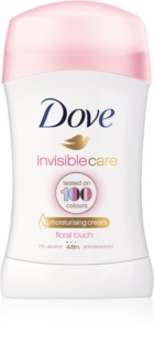 Dove Invisible Care Floral Touch antitranspirante sólido anti-manchas blancas sin alcohol