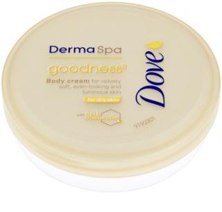 Dove DermaSpa Goodness³ telový krém pre jemnú a hladkú pokožku