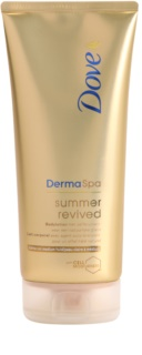 Dove DermaSpa Summer Revived leite com cor