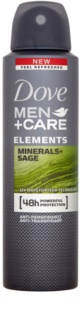 Dove Men+Care Elements déodorant anti-transpirant en spray 48h