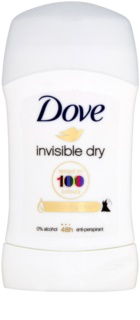 Dove Invisible Dry antitranspirante sólido contra as manchas branca 48 h