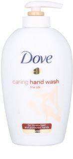 Dove Silk Fine tekuté mýdlo s pumpičkou