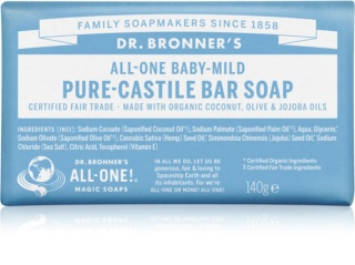 Dr. Bronner's Baby-Mild Bar Soap Fragrance-Free