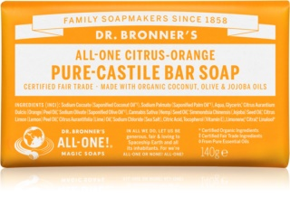 Dr. Bronner's Citrus & Orange savon solide