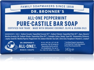 Dr. Bronner's Peppermint Bar Soap