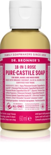 Dr. Bronner's Rose Universal Liquid Soap