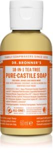Dr. Bronner's Tea Tree sapone liquido universale