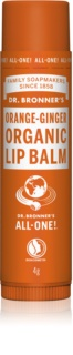 Dr. Bronner's Orange & Ginger balsam de buze