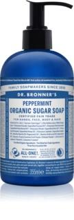 Dr. Bronner's Peppermint Flüssigseife Für Körper und Haar