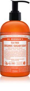 Dr. Bronner's Tea Tree sabonete líquido para corpo e cabelo