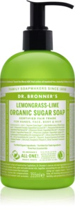 Dr. Bronner's Lemongrass & Lime Liquid Soap for Body and Hair