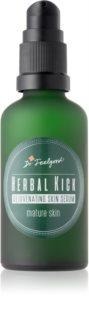 Dr. Feelgood Herbal Kick verjüngendes Zweiphasenserum für reife Haut