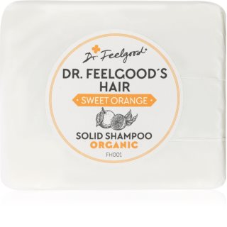 Dr. Feelgood Sweet Orange organikus szilárd sampon