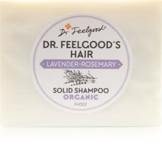 Dr. Feelgood Lavender & Rosemary shampoing solide bio