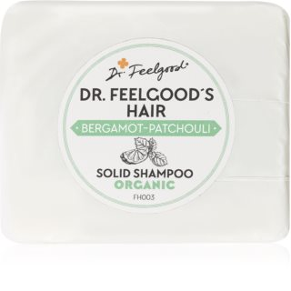 Dr. Feelgood Bergamot-Patchouli shampoing solide bio