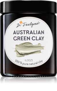 Dr. Feelgood Australian Green Clay čistilna maska za obraz iz ilovice