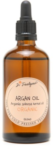 Dr. Feelgood BIO and RAW olio cosmetico di argan per viso, corpo e capelli