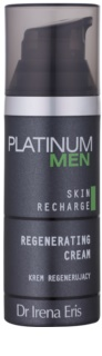 Dr Irena Eris Platinum Men 24 h Protection ночной восстанавливающий крем для уставшей кожи