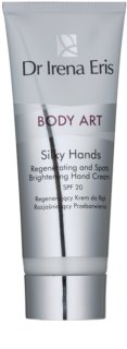 Dr Irena Eris Body Art Silky Hands regeneračný krém na ruky proti pigmentovým škvrnám