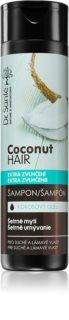 Dr. Santé Coconut champô com óleo de coco para o cabelo seco e frágil