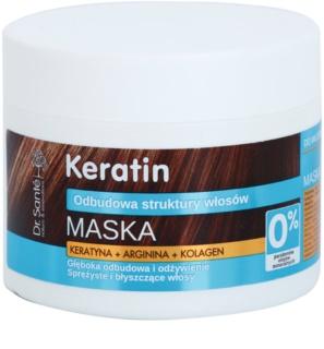 Dr. Santé Keratin Djupt rengörande regenererande och närande mask för sprött och glanslöst hår