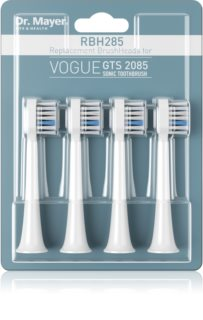 Dr. Mayer RBH285 Replacement Heads for Battery-Operated Sonic Toothbrush Medium