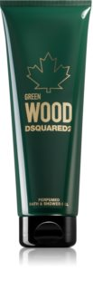 Dsquared2 Green Wood gel za prhanje in kopanje za moške