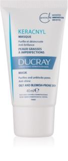 Ducray Keracnyl очищаюча маска для шкіри з недоліками