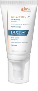 Ducray Melascreen Solcreme til at behandle pigmentpletter SPF 50+