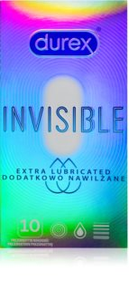 Durex Invisible Extra Lubricated preservativos