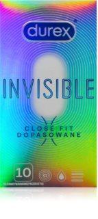 Durex Invisible Close Fit preservativos