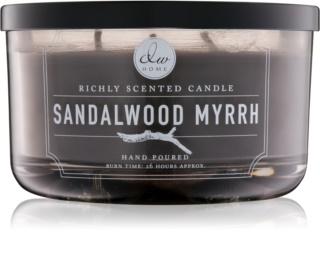 DW Home Sandalwood Myrrh bougie parfumée