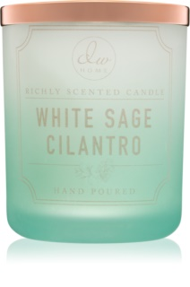 DW Home White Sage Cilantro scented candle