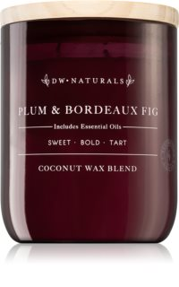 DW Home Plum & Bordeaux Fig scented candle