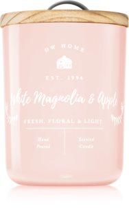 DW Home Farmhouse White Magnolia & Apple bougie parfumée