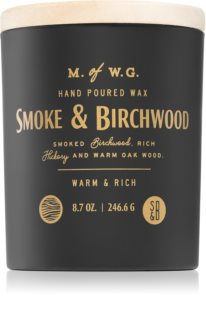 Makers of Wax Goods Smoke & Birchwood scented candle