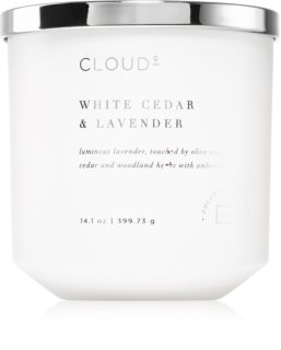 DW Home White Cedar & Lavender scented candle