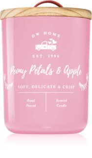 DW Home Farmhouse Peony Petals & Apple scented candle