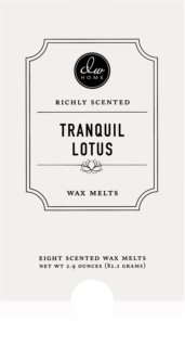 DW Home Tranquil Lotus vosak za aroma lampu